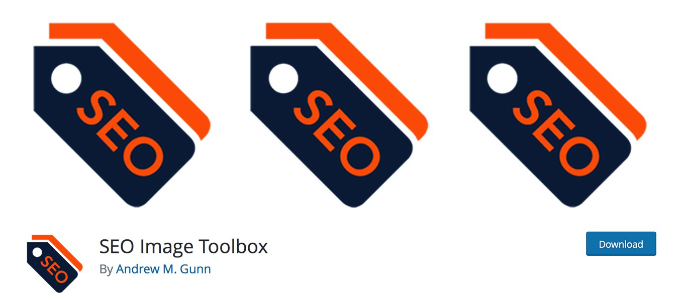 SEO Image toolbox wordpress plugin