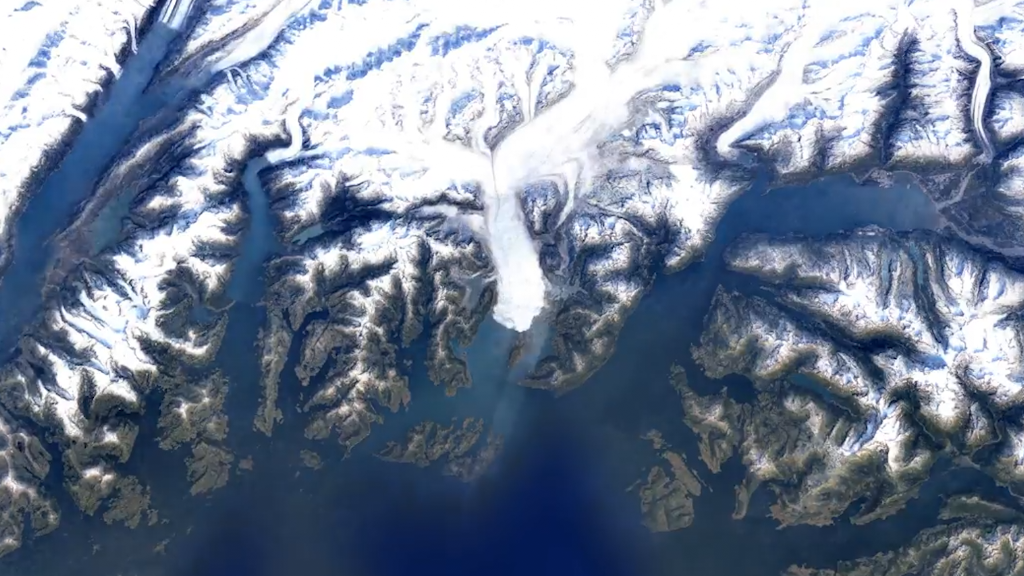 Google Earth Timelapses show climate change