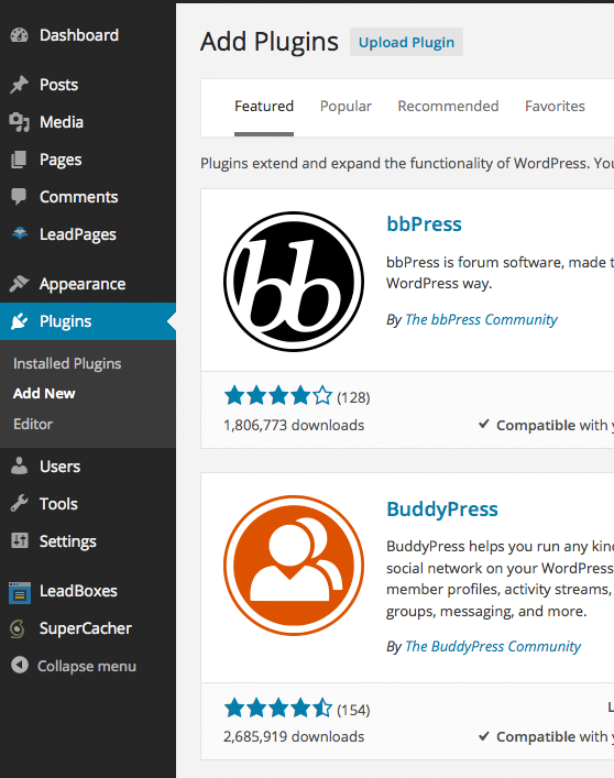 How to Install a WordPress Plugin on Your Website : Web & Se